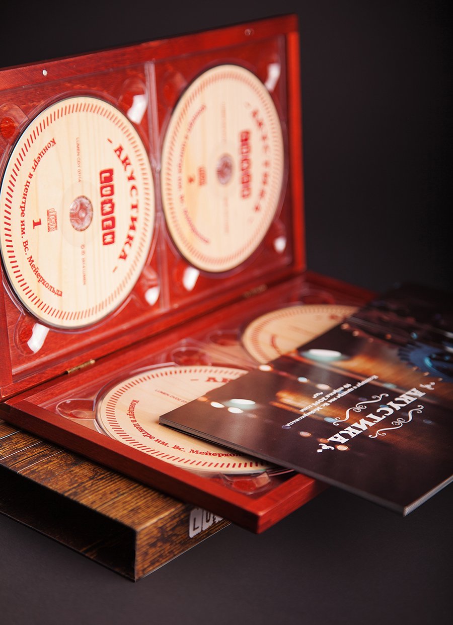 CD+DVD LUMEN. Acoustic live