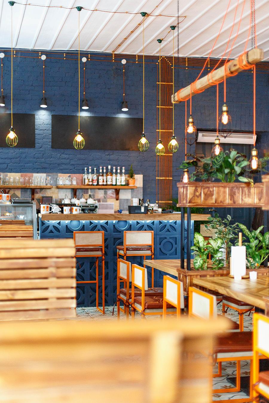 Karl Marks burgers interior