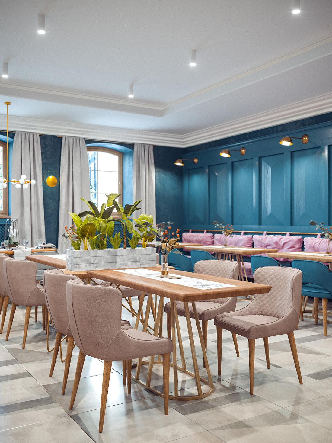 Hotel restaurant | concept