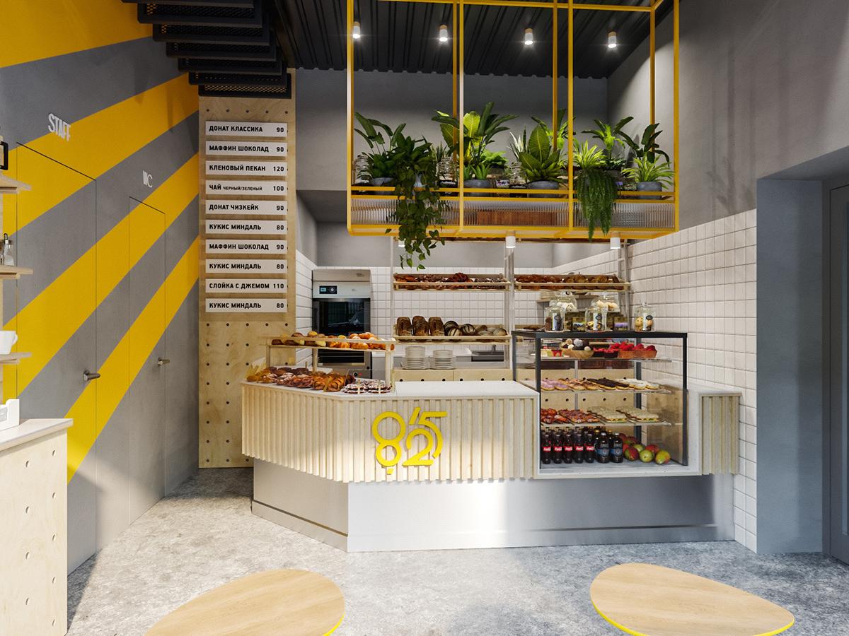 8/25 bakery interior   Moscow