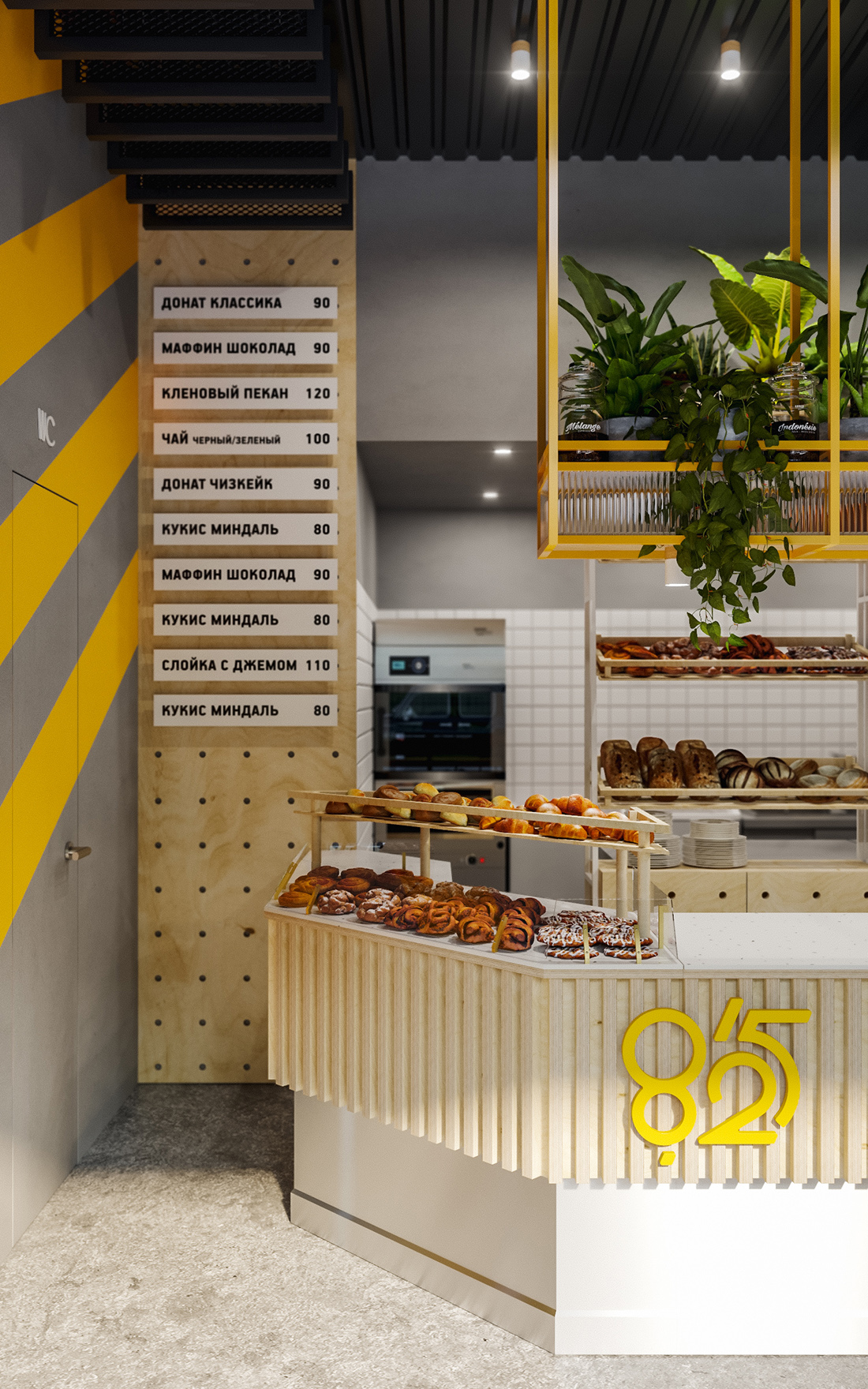 8/25 bakery interior | Moscow